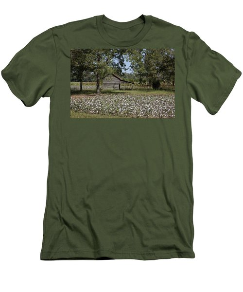 Cotton In Rural Alabama Men's T-Shirt (Athletic Fit)