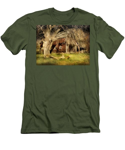 Country Afternoon Men's T-Shirt (Athletic Fit)