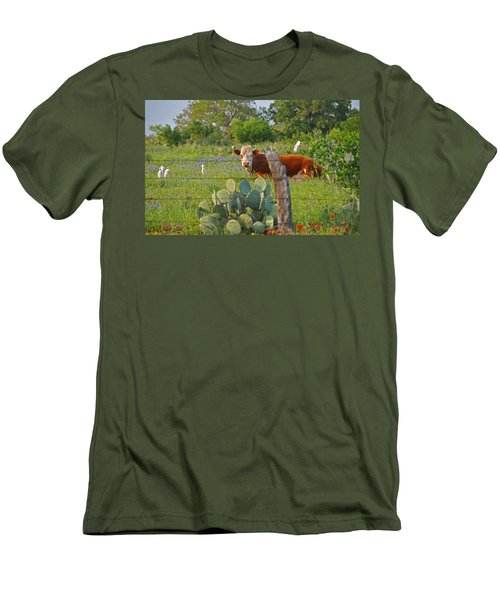 Country Friends Men's T-Shirt (Athletic Fit)