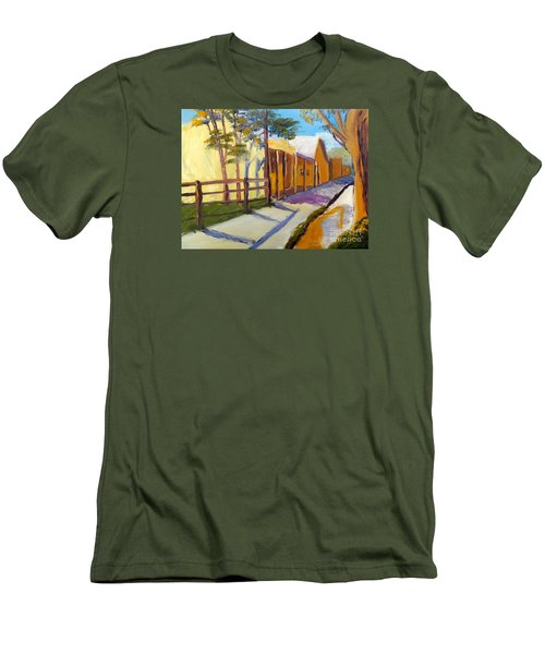 Country Village Men's T-Shirt (Athletic Fit)
