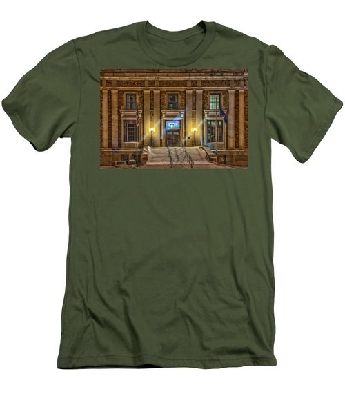 Courthouse Steps Men's T-Shirt (Slim Fit) by Paul Freidlund