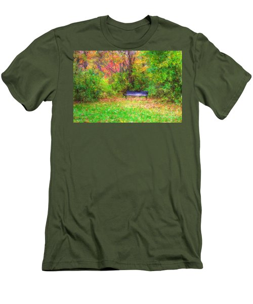 Cozy Little Nook Men's T-Shirt (Athletic Fit)
