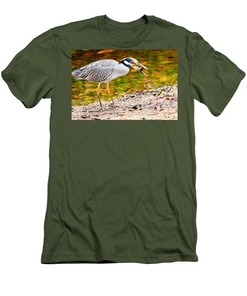 Crabbing In Florida Men's T-Shirt (Athletic Fit)