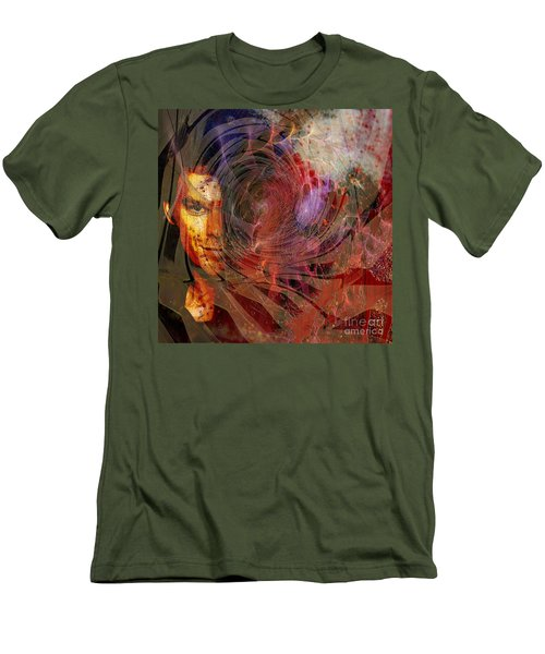 Crimson Requiem - Square Version Men's T-Shirt (Athletic Fit)