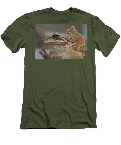 Cuban Treefrog Men's T-Shirt (Slim Fit) by Paul Rebmann