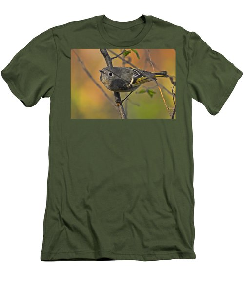 Men's T-Shirt (Slim Fit) featuring the photograph Curiosity by Gary Holmes
