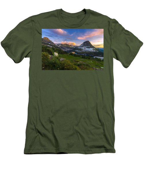 Curious Goat Men's T-Shirt (Athletic Fit)