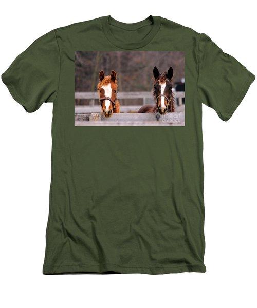 Cute Yearlings Men's T-Shirt (Athletic Fit)