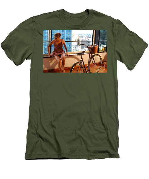 Cycle Introspection Men's T-Shirt (Athletic Fit)