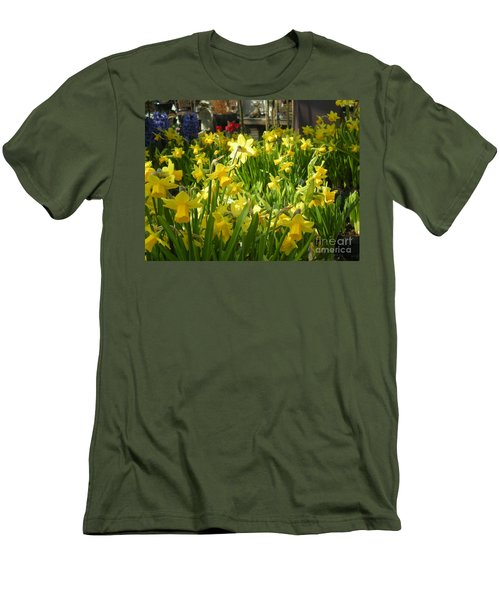 Daffidoils Men's T-Shirt (Athletic Fit)