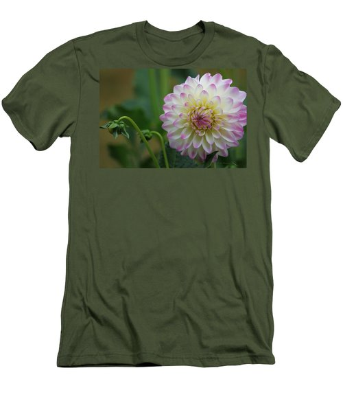 Dahlia In The Mist Men's T-Shirt (Athletic Fit)