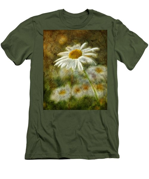 Daisies ... Again - P11at01 Men's T-Shirt (Slim Fit) by Variance Collections