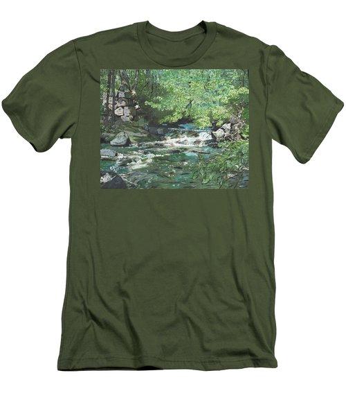 Dam Site Men's T-Shirt (Athletic Fit)