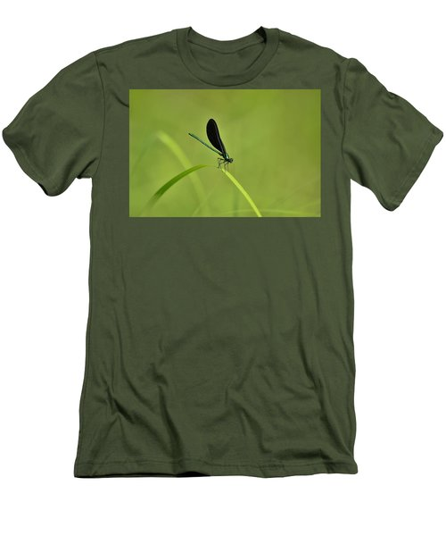 Damselfly  Men's T-Shirt (Athletic Fit)