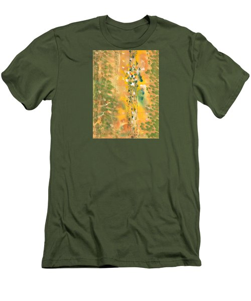 Dance Of The Elementals Men's T-Shirt (Slim Fit) by Lynda Hoffman-Snodgrass