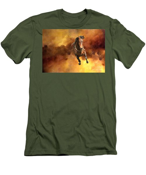 Dancing Free I Men's T-Shirt (Slim Fit) by Michelle Twohig