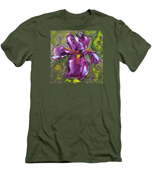 Dancing Iris Men's T-Shirt (Athletic Fit)