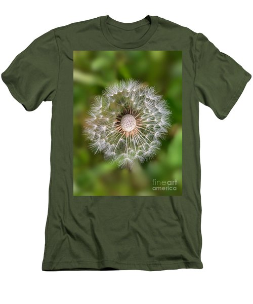 Men's T-Shirt (Slim Fit) featuring the photograph Dandelion by Carsten Reisinger