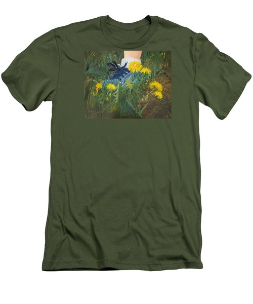 Dandelion Dance Men's T-Shirt (Athletic Fit)