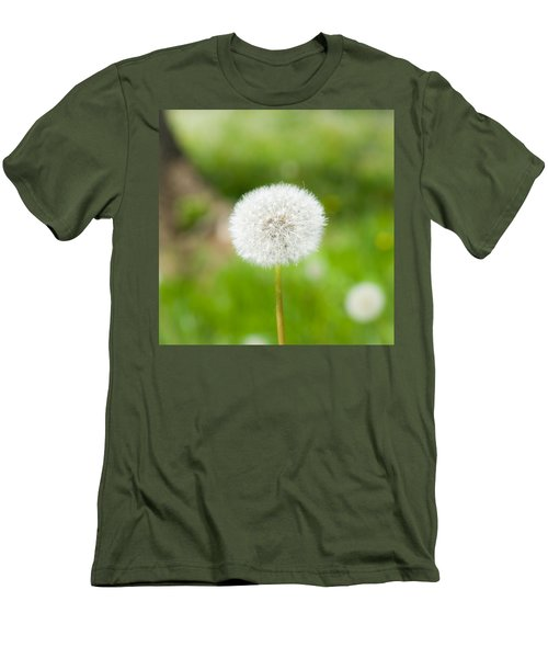 Dandelion Puffball Men's T-Shirt (Athletic Fit)