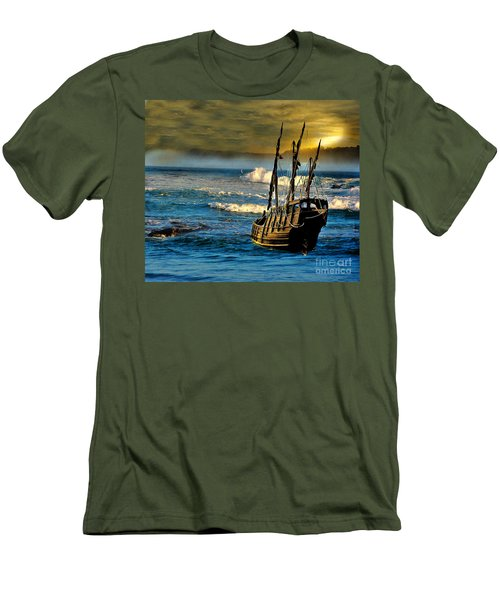 Dangerous Waters Men's T-Shirt (Athletic Fit)