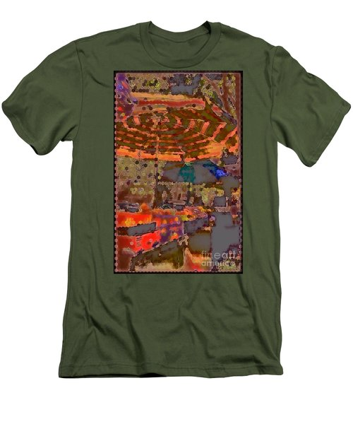 Men's T-Shirt (Slim Fit) featuring the photograph Dappled Sun by Miriam Danar