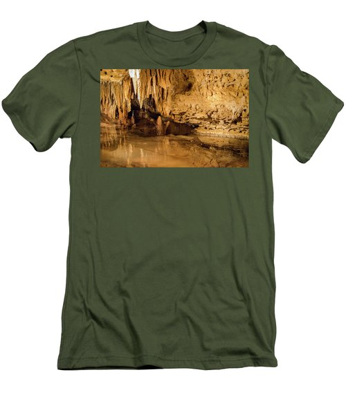 Deep In The Cave Men's T-Shirt (Athletic Fit)