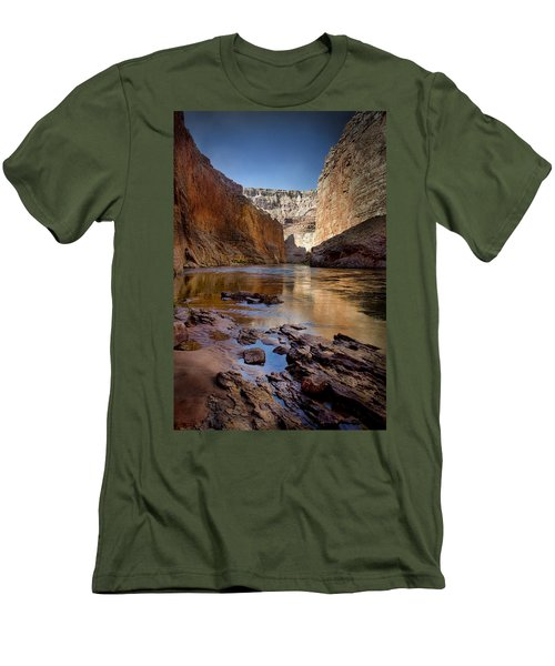 Deep Inside The Grand Canyon Men's T-Shirt (Athletic Fit)