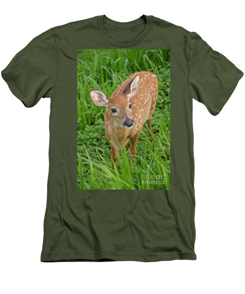 Deer 42 Men's T-Shirt (Athletic Fit)