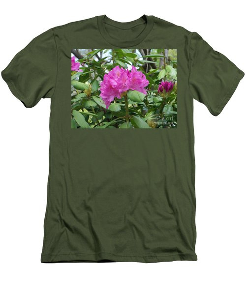 Men's T-Shirt (Slim Fit) featuring the photograph Delicate Beauty by Roberta Byram