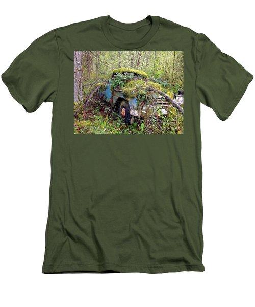 Derelict Men's T-Shirt (Slim Fit) by Sean Griffin