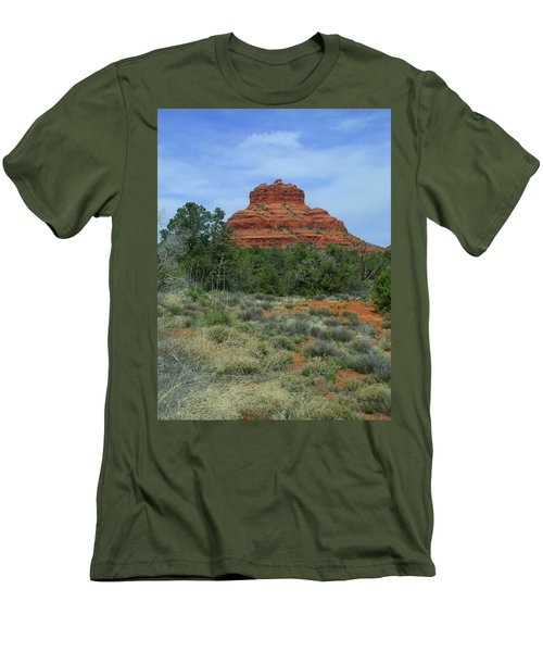 Desert Castle Men's T-Shirt (Athletic Fit)