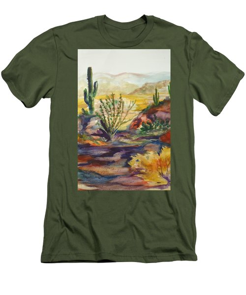 Desert Color Men's T-Shirt (Athletic Fit)