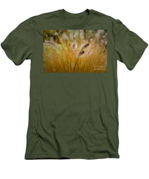 Dew On Ornamental Grass No. 4 Men's T-Shirt (Athletic Fit)