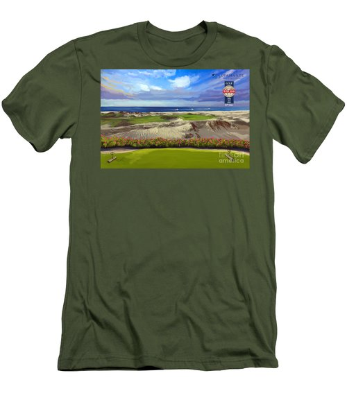 Diamante Dunes Cabo 16th Men's T-Shirt (Athletic Fit)
