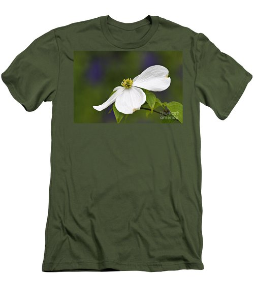 Dogwood Blossom - D001797 Men's T-Shirt (Athletic Fit)