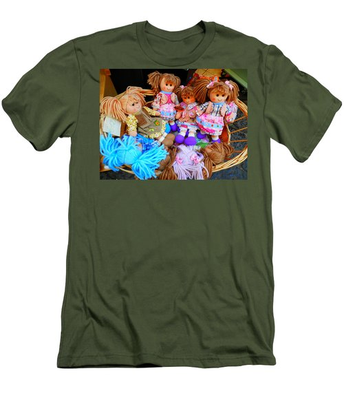Dolls For Sale 1 Men's T-Shirt (Slim Fit) by Pema Hou