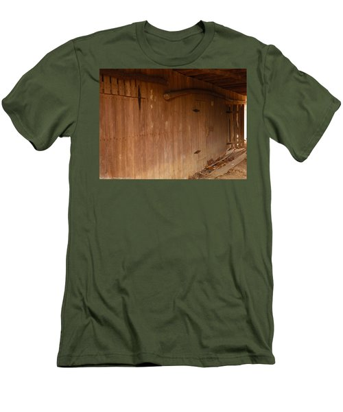 Men's T-Shirt (Slim Fit) featuring the photograph Doors To The Past by Nick Kirby