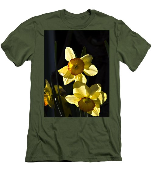 Men's T-Shirt (Slim Fit) featuring the photograph Dos Daffs by Joe Schofield