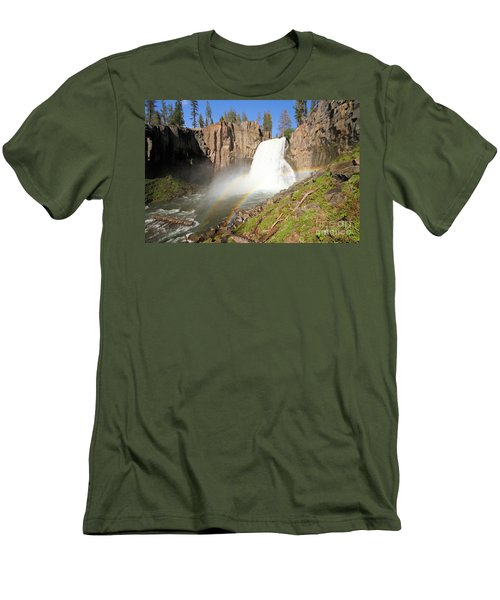 Double Rainbow Falls Men's T-Shirt (Athletic Fit)