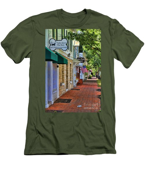 Downtown Dublin Ohio Men's T-Shirt (Athletic Fit)