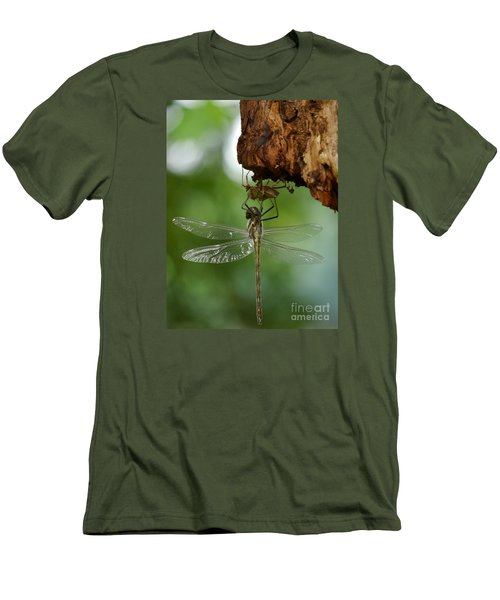 Dragonfly Men's T-Shirt (Slim Fit) by Jane Ford