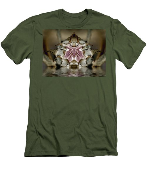 Men's T-Shirt (Slim Fit) featuring the photograph Dream 80 by WB Johnston