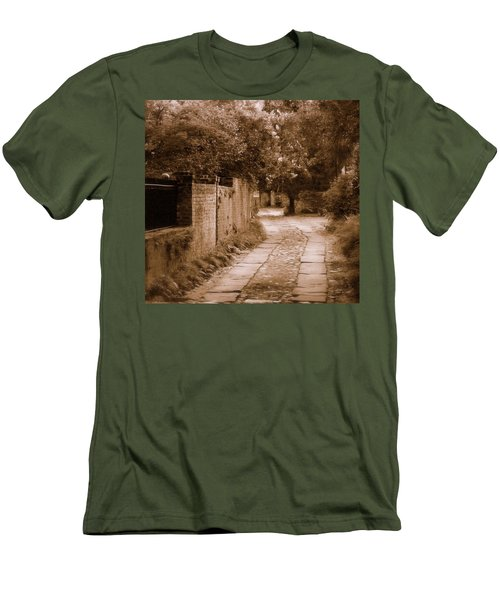 Men's T-Shirt (Slim Fit) featuring the photograph Dream Road by Rodney Lee Williams