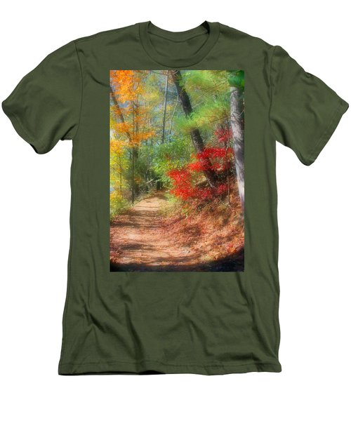 Men's T-Shirt (Slim Fit) featuring the photograph Dreaming Of Fall by Kristin Elmquist
