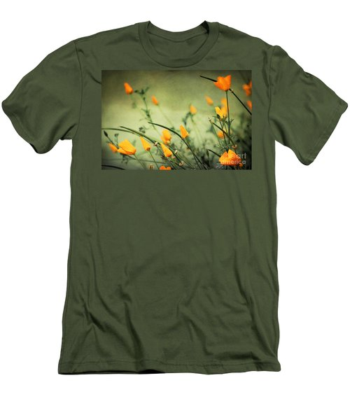 Men's T-Shirt (Slim Fit) featuring the photograph Dreaming Of Spring by Ellen Cotton