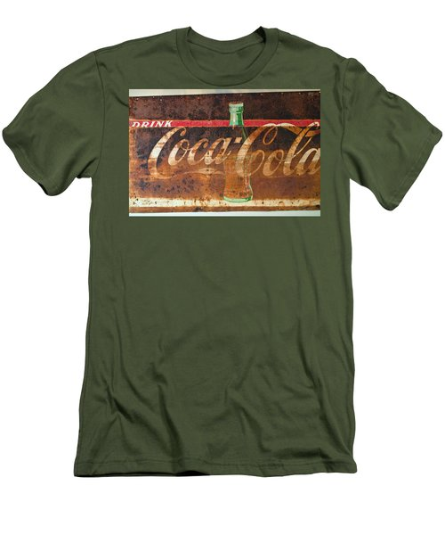 Drink Coca-cola Men's T-Shirt (Slim Fit) by Tikvah's Hope