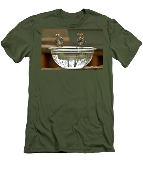 Drink Up Men's T-Shirt (Athletic Fit)