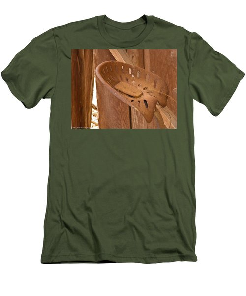Men's T-Shirt (Slim Fit) featuring the photograph Drivers Seat by Nick Kirby