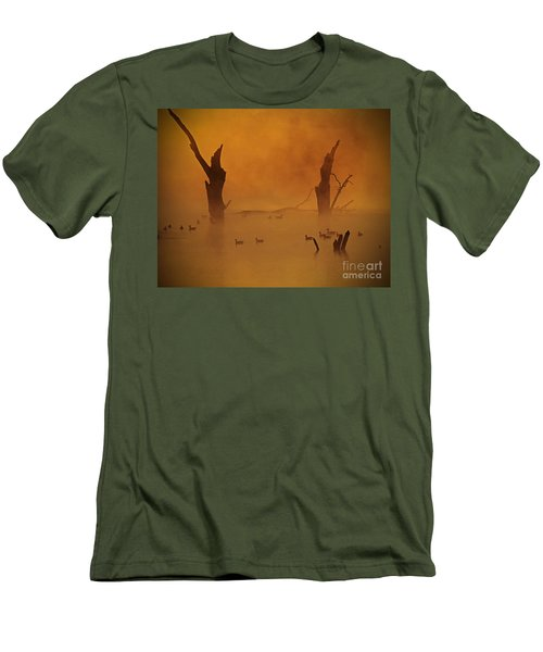 Duck Pond Men's T-Shirt (Athletic Fit)